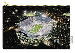 Penn State Whiteout Carry-all Pouch by Amesphotos