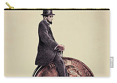 Penny Farthing Carry-all Pouch by Eric Fan