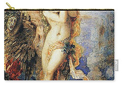 Perseus And Andromeda Carry-all Pouch by Gustave Moreau