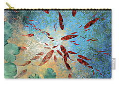 Koi Rotanti Carry-all Pouch by Guido Borelli
