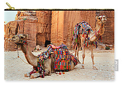 Petra Camels Carry-all Pouch by Stephen Stookey