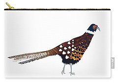Pheasant Carry-all Pouch by Isobel Barber