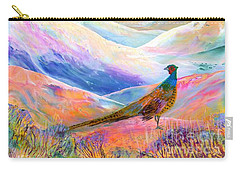 Pheasant Moon Carry-all Pouch by Jane Small