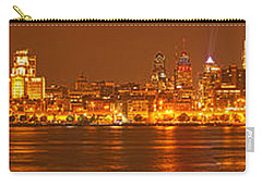 Philadelphia Ultra Wide Panorama Carry-all Pouch by Adam Jewell