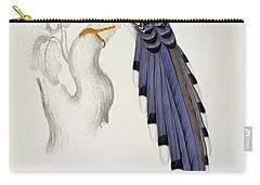 Pica Erythrorhyncha, From A Century Of Birds From The Himalaya Mountains Carry-all Pouch by Elizabeth Gould