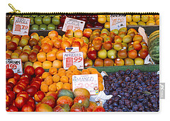 Pike Place Market Seattle Wa Usa Carry-all Pouch by Panoramic Images
