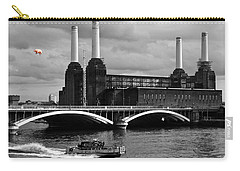 Pink Floyd's Pig At Battersea Carry-all Pouch by Dawn OConnor