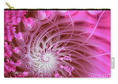 Pink Carry-all Pouch by Lena Auxier