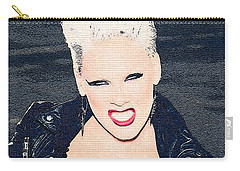 Pink Carry-all Pouch by Marvin Blaine