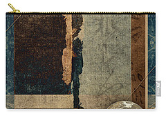 Planetary Shift #1 Carry-all Pouch by Carol Leigh