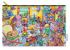 Play Room Carry-all Pouch by Mark Gregory