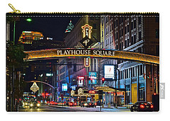 Playhouse Square Carry-all Pouch by Frozen in Time Fine Art Photography