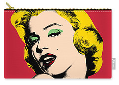Pop Art Carry-all Pouch by Mark Ashkenazi