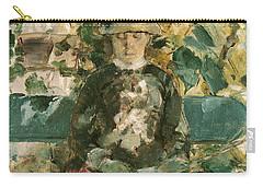 Portrait Of Adele Tapie De Celeyran Carry-all Pouch by Henri de Toulouse-Lautrec