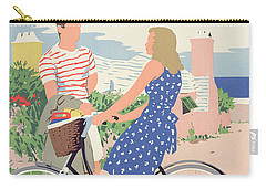 Poster Advertising Bermuda Carry-all Pouch by Adolph Treidler