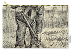 Potato Gatherer Carry-all Pouch by Vincent Van Gogh