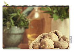 Potatoes Carry-all Pouch by Amanda Elwell