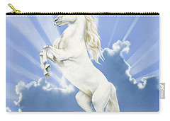 Prancing Unicorn Carry-all Pouch by Irvine Peacock