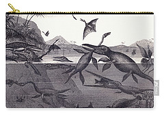 Prehistoric Animals Of The Lias Group Carry-all Pouch by English School