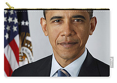 President Barack Obama Carry-all Pouch by Pete Souza
