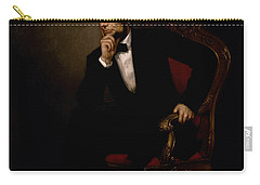 President Lincoln  Carry-all Pouch by War Is Hell Store