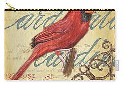Pretty Bird 1 Carry-all Pouch by Debbie DeWitt