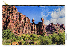 Private Home Canyon Dechelly Carry-all Pouch by Bob and Nadine Johnston