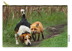 Probably The World's Worst Hunting Dog Carry-all Pouch by Mircea Costina Photography