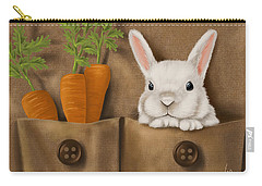 Rabbit Hole Carry-all Pouch by Veronica Minozzi
