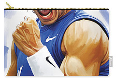 Rafael Nadal Artwork Carry-all Pouch by Sheraz A