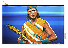 Rafael Nadal Carry-all Pouch by Paul Meijering