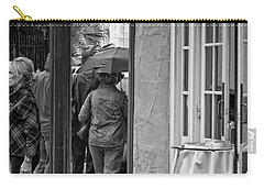 Rainy Day Lunch New Orleans Carry-all Pouch by Kathleen K Parker