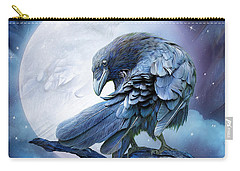 Raven Moon Carry-all Pouch by Carol Cavalaris