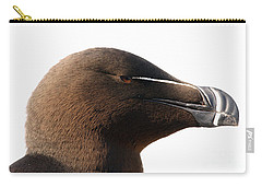 Razorbill Auk Carry-all Pouch by Jeannette Hunt