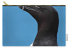 Razorbill Profile Carry-all Pouch by Bruce J Robinson