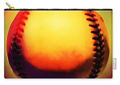 Red Hot Baseball Carry-all Pouch by Yo Pedro
