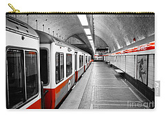 Red Line Carry-all Pouch by Charles Dobbs