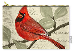 Red Melody Carry-all Pouch by Lourry Legarde
