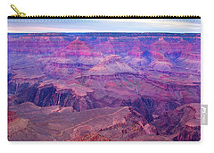 Red Rock Dusk Carry-all Pouch by Mike  Dawson