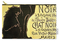 Reopening Of The Chat Noir Cabaret Carry-all Pouch by Theophile Alexandre Steinlen
