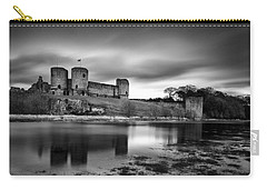 Rhuddlan Castle Carry-all Pouch by Dave Bowman