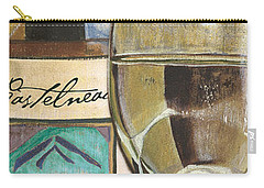 Riesling Carry-all Pouch by Debbie DeWitt