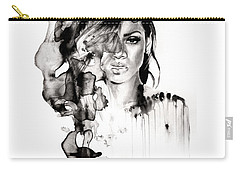 Rihanna Stay Carry-all Pouch by Molly Picklesimer