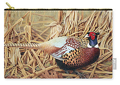 Ring-necked Pheasant Carry-all Pouch by Ken Everett