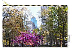 Rittenhouse Square In Springtime Carry-all Pouch by Bill Cannon
