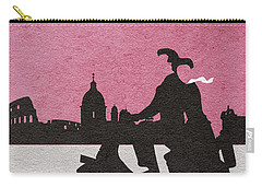 Roman Holiday Carry-all Pouch by Ayse Deniz