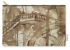 Roman Prison Carry-all Pouch by Giovanni Battista Piranesi