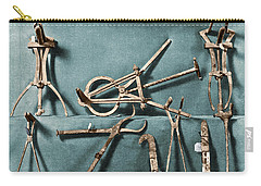 Carry-all Pouch featuring the photograph Roman Surgical Instruments, 1st Century by Science Source