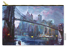 Romance By East River II Carry-all Pouch by Ylli Haruni