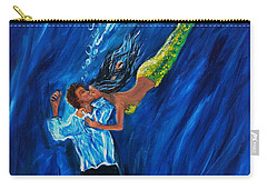 Romantic Rescue Carry-all Pouch by Leslie Allen